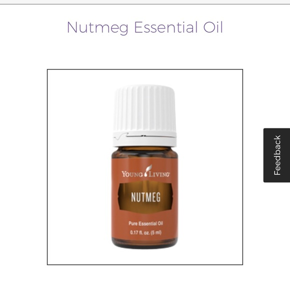 🆕 nutmeg essential oil young living
